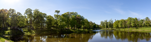 Kėdainiai park and park reservoir, 2018-05-07